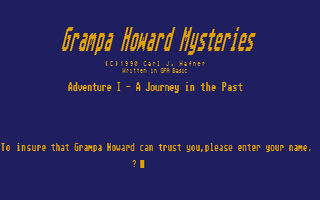 Thumbnail of other screenshot of Grampa Howard Mysteries