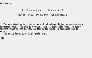 Screenshot of Phantom House