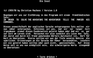 Screenshot of Insel, Die