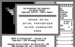 Thumbnail of other screenshot of Hascs II Professional - Die Wiederkehr des Hauberers