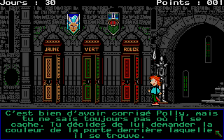Screenshot of Le Labyrinthe D'Anglomania 2