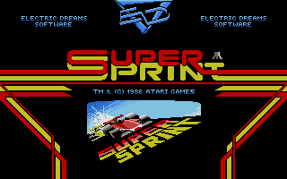 Large screenshot of Super Sprint