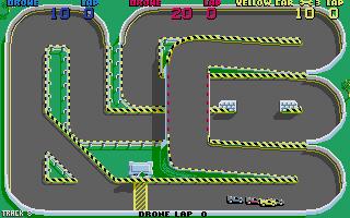 Screenshot of Super Sprint