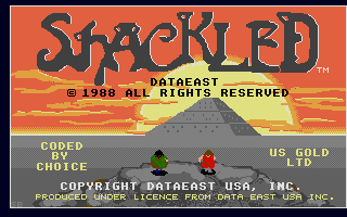 Screenshot of Shackled