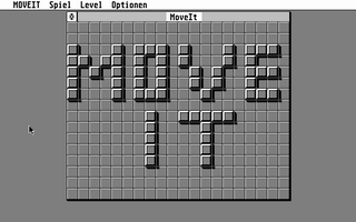 Screenshot of MoveIt