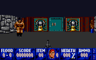 Thumbnail of other screenshot of Wolfenstein 3d