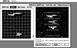 Screenshot of GEMTrek