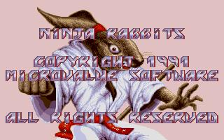 Thumbnail of other screenshot of Ninja Rabbits