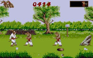 Screenshot of Ninja Rabbits