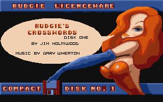 Screenshot of Budgie's Crosswords