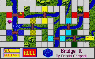Screenshot of Bridge It
