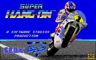 Screenshot of Super Hang-On