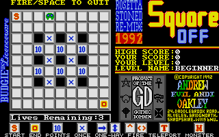 Screenshot of Square Off - The Rosetta Stoned Remix