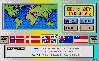 Screenshot of Currency Exchange