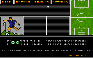 Thumbnail of other screenshot of Football Tactician - Division 1