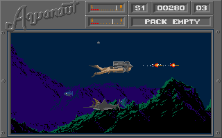 Screenshot of Aquanaut