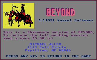 Thumbnail of other screenshot of Beyond