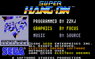 Thumbnail of other screenshot of Super Hang-On