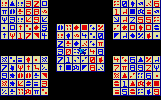 Screenshot of 5 Grid Solitaire Game, The