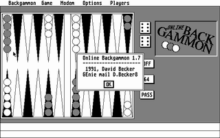 Thumbnail of other screenshot of Online Backgammon
