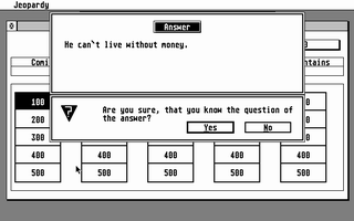 Thumbnail of other screenshot of Jeopardy