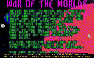 Thumbnail of other screenshot of War of the Worlds 3 - Take over