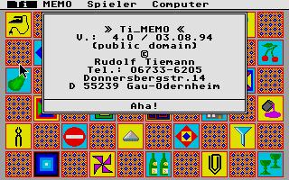 Screenshot of Ti Memo