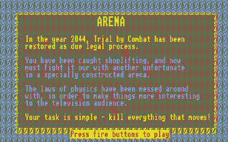 Screenshot of Arena