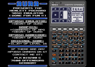 Thumbnail of other screenshot of HP48SX Emulator