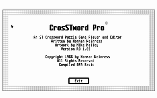 Thumbnail of other screenshot of CrosSTword Pro