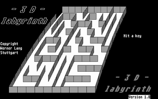 Thumbnail of other screenshot of 3D Labyrinth