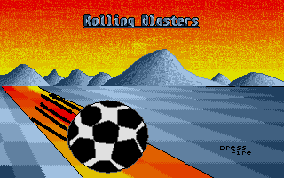Thumbnail of other screenshot of Rolling Blasters