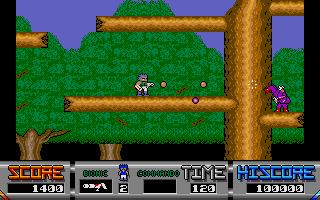 Screenshot of Bionic Commando