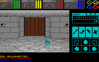 Screenshot of Dungeon Master - Conflux