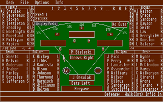 Thumbnail of other screenshot of American Pastime Baseball Simulator
