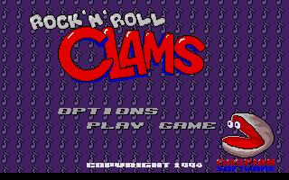 Screenshot of Rock 'n' Roll Clams
