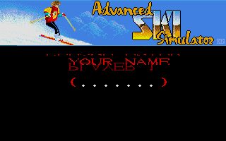 Screenshot of Advanced Ski Simulator