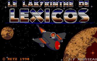 Screenshot of Le Labyrinthe De Lexicos