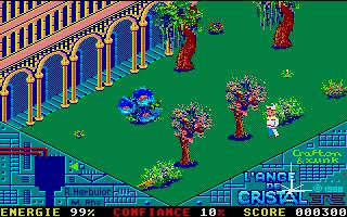 Screenshot of Ange de Cristal, L'
