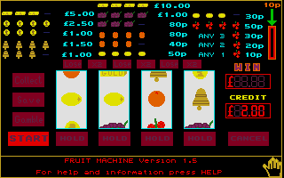 Screenshot of Fruit Machine