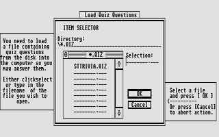 Screenshot of ST Trivia