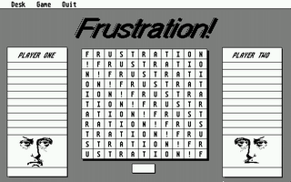 Screenshot of Frustration