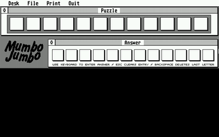Screenshot of Mumbo Jumbo