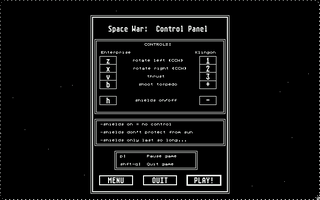 Thumbnail of other screenshot of Space War