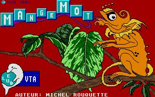 Screenshot of Mangemot, Le