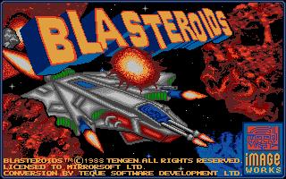 Screenshot of Blasteroids