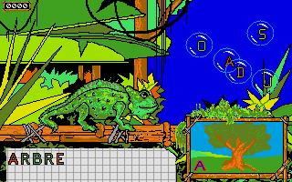 Screenshot of Gédéon le Caméléon