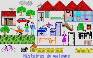 Screenshot of Histoires de Maisons