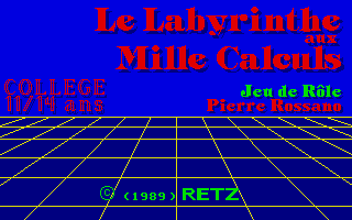 Thumbnail of other screenshot of Le Labyrinthe Aux Mille Calculs