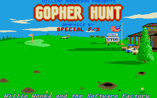 Thumbnail of other screenshot of Gopher Hunt